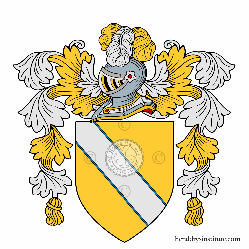 Coat of arms of family Zarboni