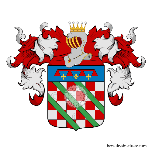Coat of Arms of family della Chiara