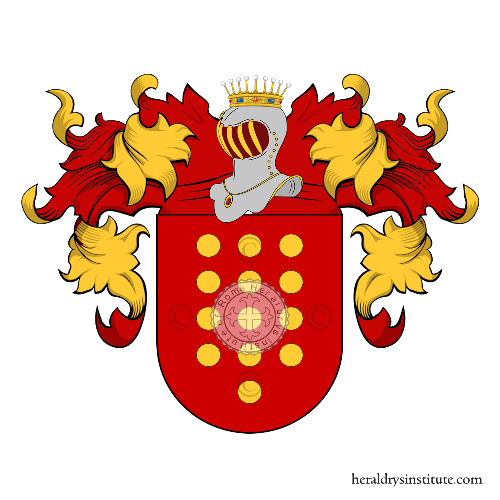 Coat of arms of family Sarmiento