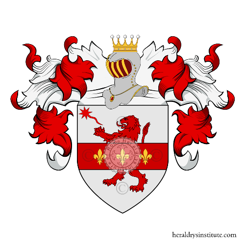 Coat of arms of family Tuscano