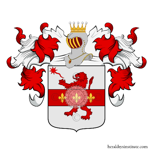 Coat of arms of family Toscano