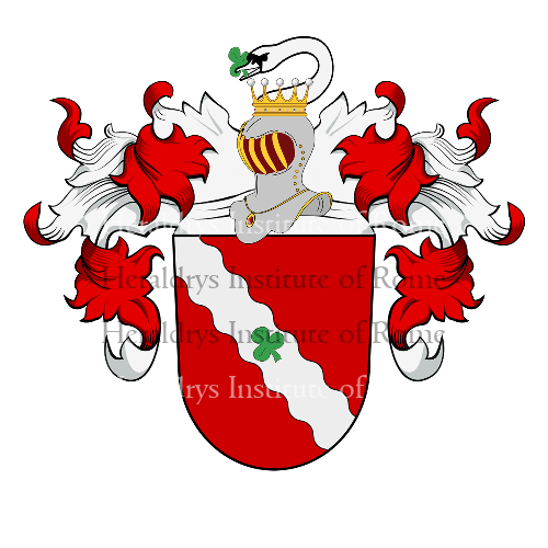 Coat of arms of family Bierbaum