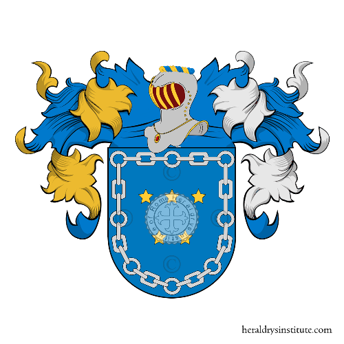 Coat of arms of family Canelo