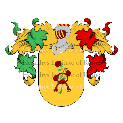 Coat of Arms of family Demenech