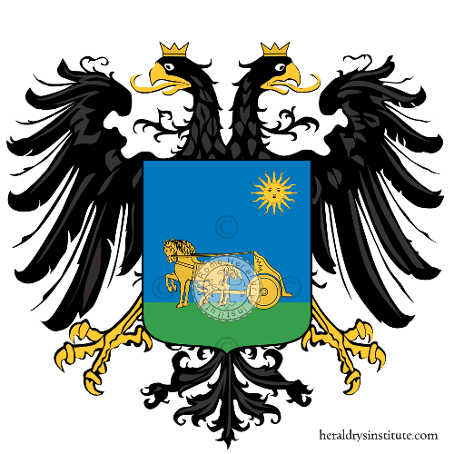 Coat of arms of family Carrozza