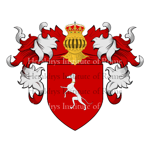 Coat of arms of family Vanni