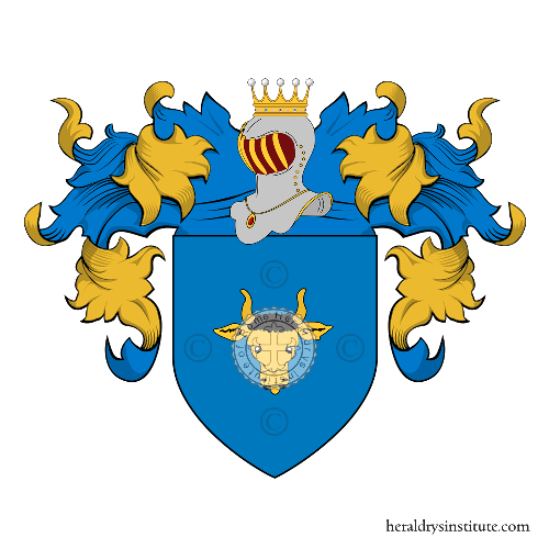 Coat of arms of family Vanni Degli Onesti