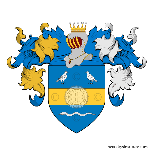 Coat of arms of family Colombel