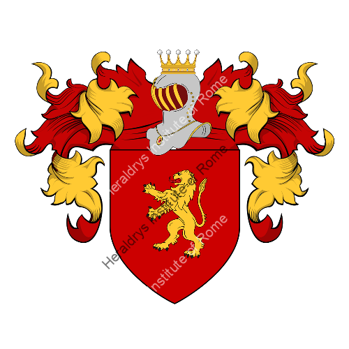 Coat of arms of family Gurzi