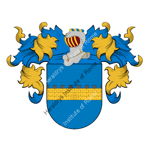 Coat of Arms of family Saqui