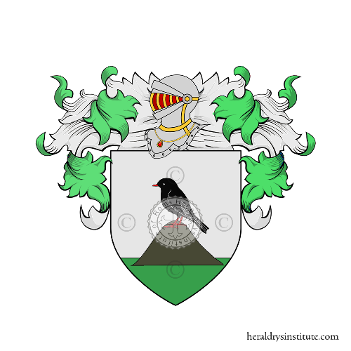 Coat of Arms of family Cozma