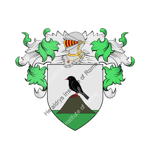 Coat of Arms of family Quazzo