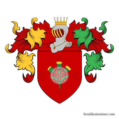 Coat of arms of family Lacetera