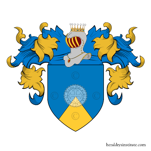 Coat of arms of family Pizzuto