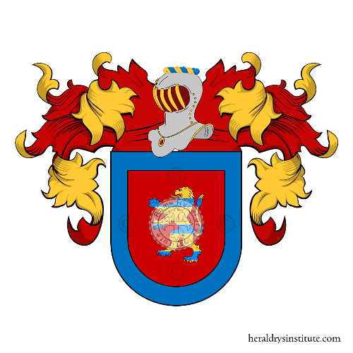 Coat of arms of family Amador