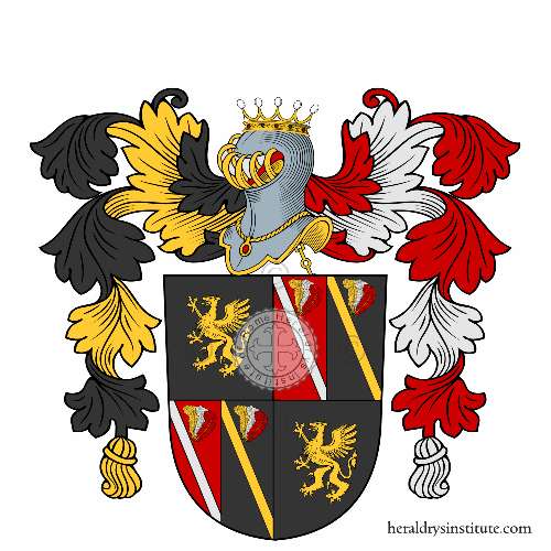 Coat of arms of family Achtmark
