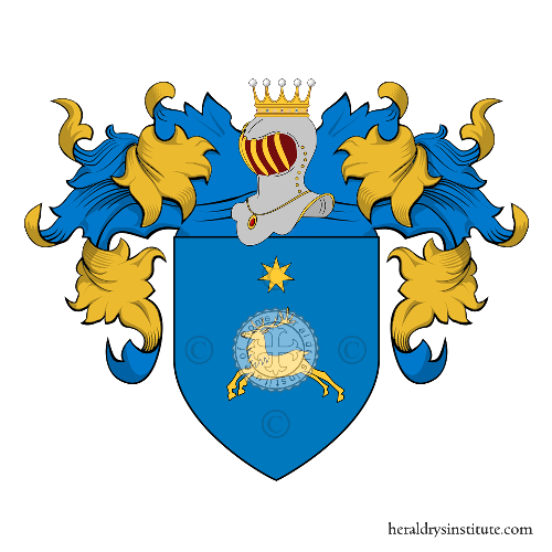 Coat of Arms of family Cervadoro