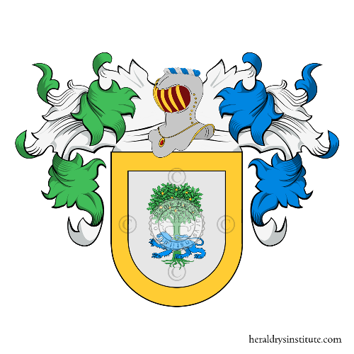 Coat of Arms of family Castaño