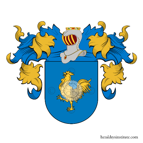 Coat of Arms of family Paulino
