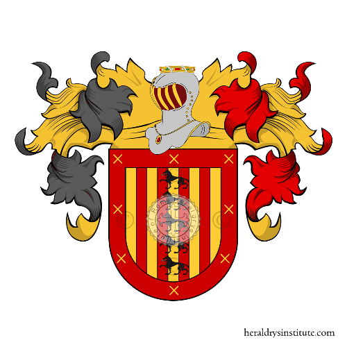 Coat of Arms of family Rodrìguez