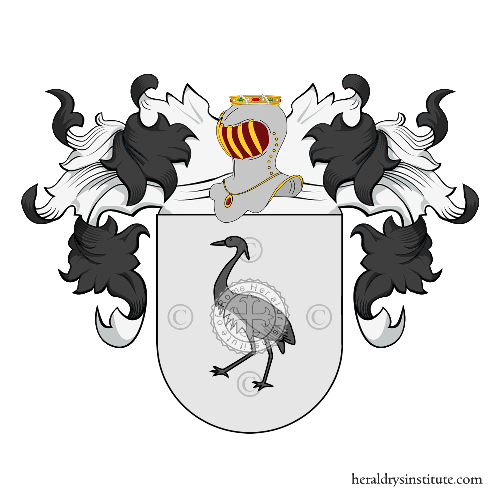 Coat of arms of family Garcìa
