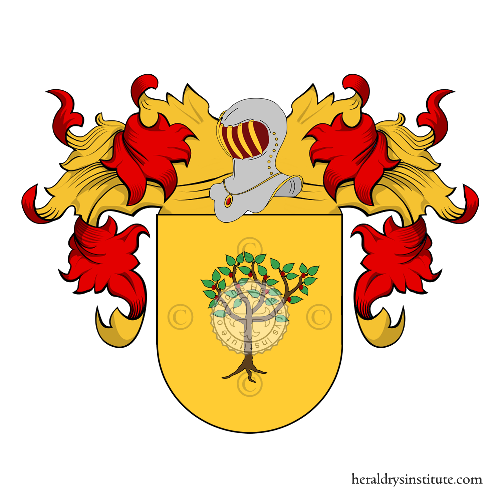 Coat of Arms of family Nunez