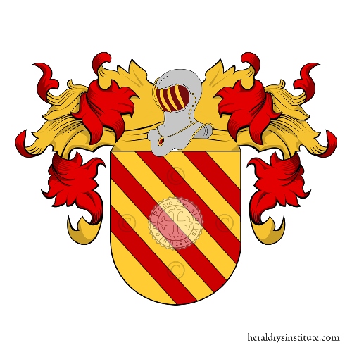 Coat of arms of family Núñez