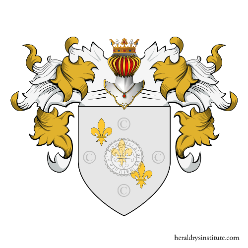 Coat of arms of family Nunez Duo