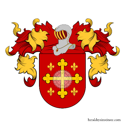 Coat of arms of family Perez