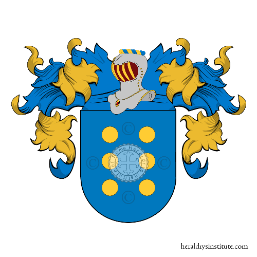Coat of Arms of family Mare