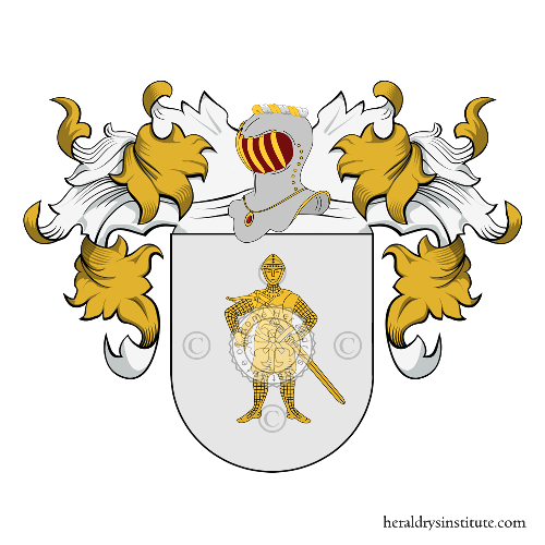 Coat of arms of family Anca