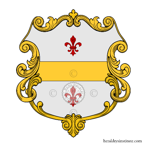 Coat of arms of family Boscherini