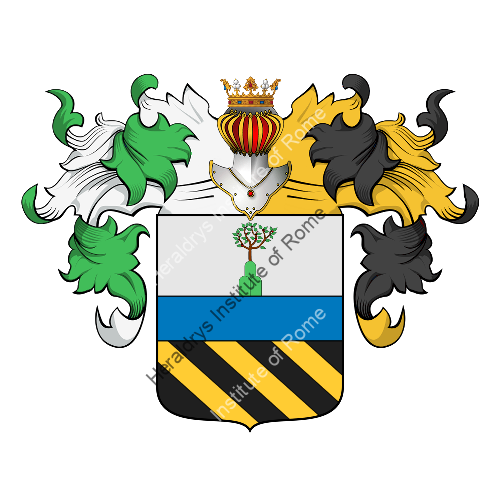 Coat of arms of family Corgna
