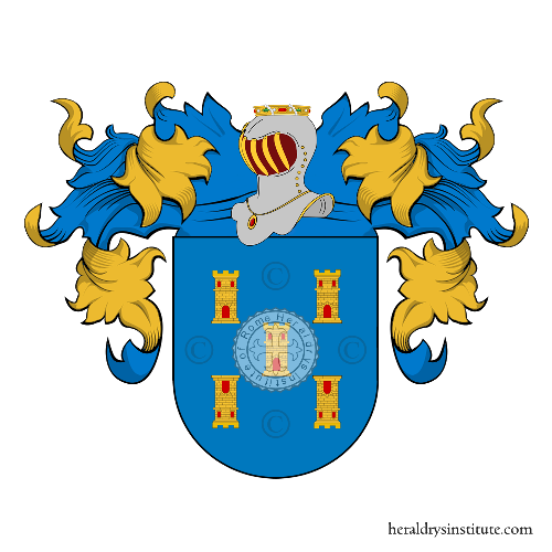 Coat of arms of family Torre