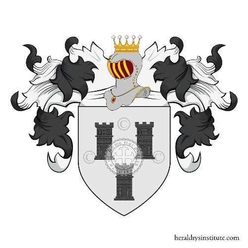 Coat of arms of family van Torre