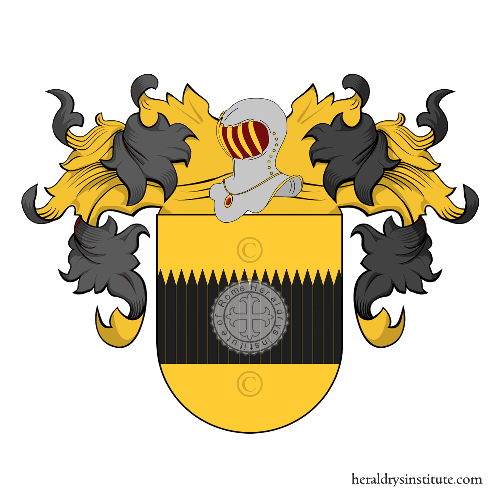 Coat of arms of family Souza