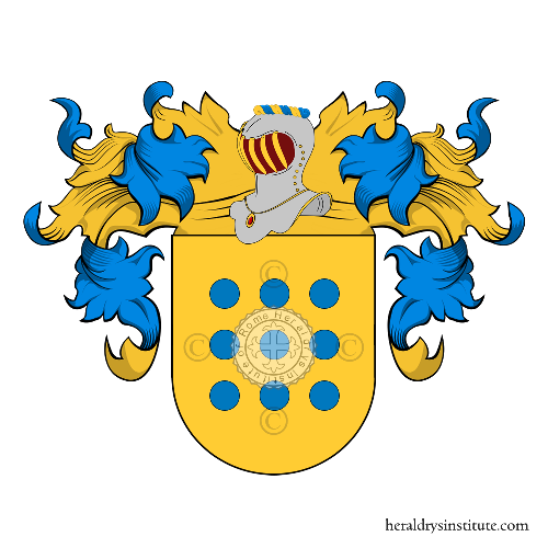 Coat of arms of family Manfredi