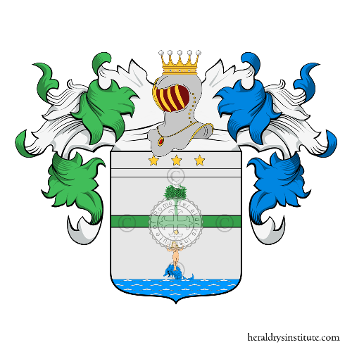Coat of arms of family Cernitori
