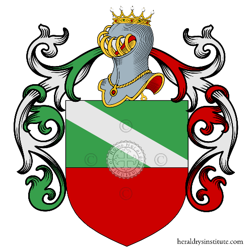 Coat of arms of family Magno