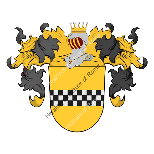 Coat of arms of family Adorno