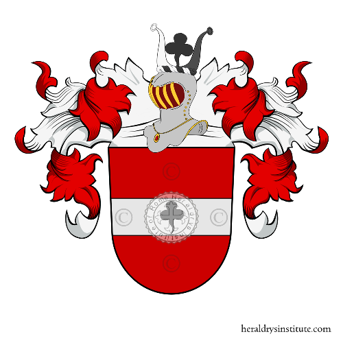 Coat of arms of family Grothe
