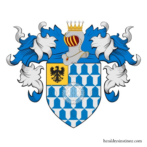 Coat of arms of family Piron