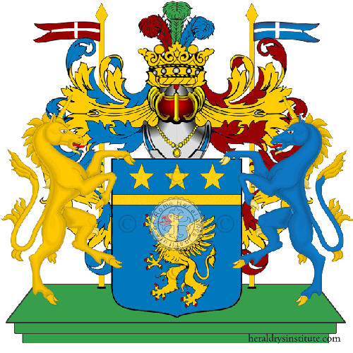 Coat of Arms of family Pronotti