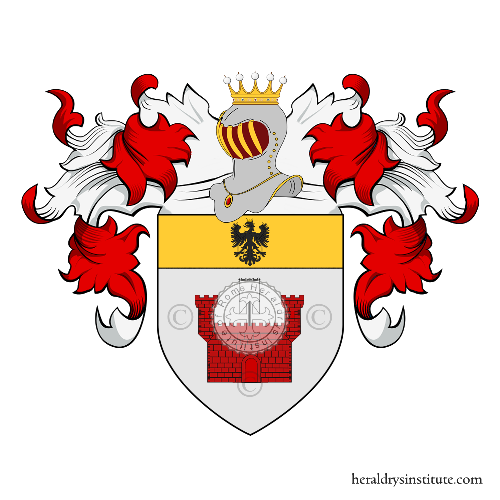 Coat of arms of family Bianchi di Velate