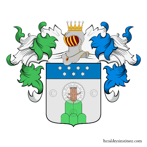 Coat of arms of family Cavazzoni Perdezini