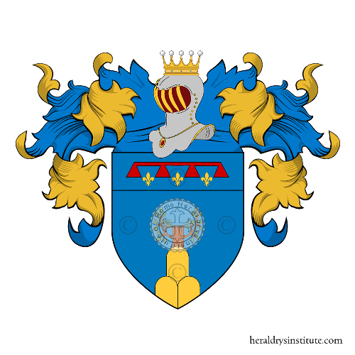 Coat of Arms of family Cavazzoni