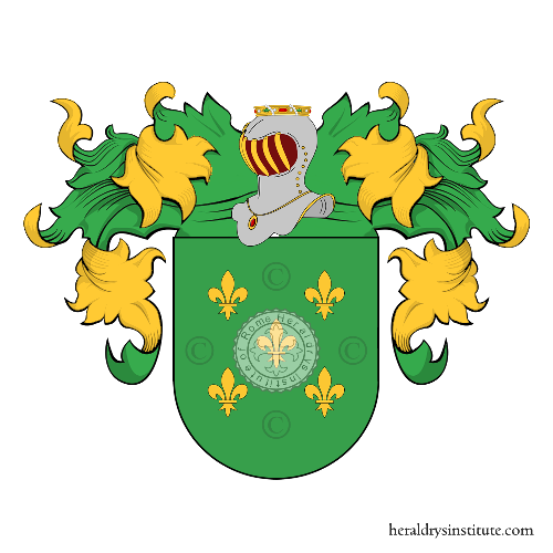 Coat of arms of family Marinho