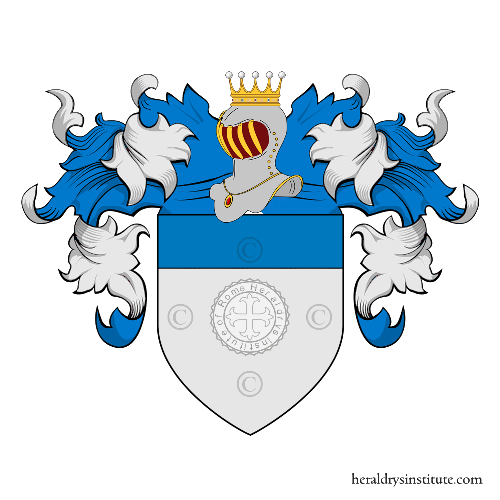 Coat of arms of family Altier de Borne