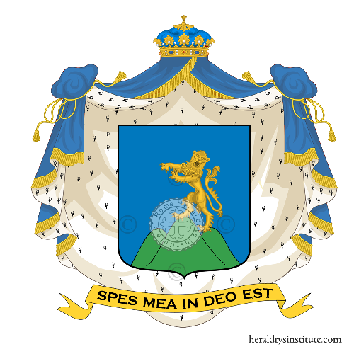 Coat of arms of family Tomasi