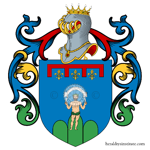 Coat of Arms of family Tomasini